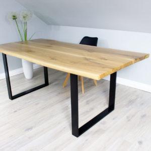 Jesionowy Stół Drewniany do Salonu