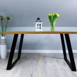 Stół Dębowy do Nowoczesnych Pomieszczeń