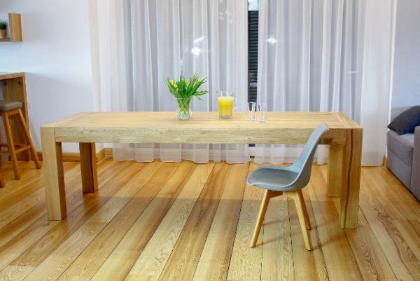 Drewniany Stół do Jadalni - Rozkładany
